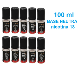 Basi Neutre »  »  » Base Neutra 100 ml nicotina 18